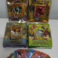 trading card animal kaiser kartu mainan anak