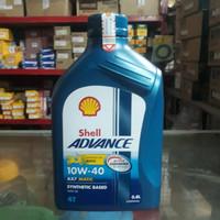 Oli Shell Advance AX7 Matic 10W/40 0.8L