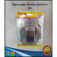 Kape Scraper Stainless Steel 4 pcs