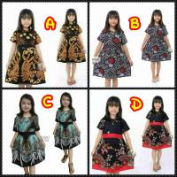 Dress Anak perempuan umur 2 - 13 tahun | Baju Batik anak termurah