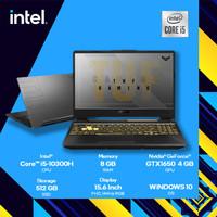 Asus TUF FX506LH - GTX1650 i5 10300 8GB 512ssd 15.6FHD 144Hz RGB W10