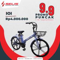 Sepeda listrik Selis tipe IOI ( Innovation Of Indonesia )