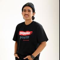 T-shirt Indonesia Pasti Bisa Pernah Positif - Hitam