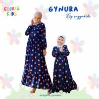 GYN HD Navy Baju Homedress Couple Ibu Anak Gynura