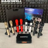 Mic Wireless Hardwell Vocal-1 2Pegang Original