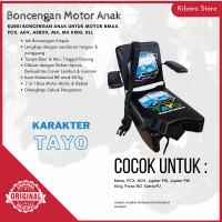 Kursi Bangku Jok Boncengan Bonceng Anak Motor Nmax PCX Karakter Tayo