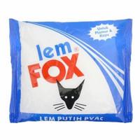 Lem Wallpaper Dinding Kayu Lem Putih Fox Luxurious