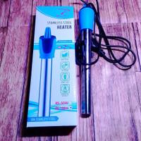 Heater Stainless Stell 100Watt Penghangat air aquarium