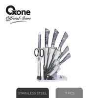 Oxone Butterfly knife set OX981N/Pisau Set/NewArrival/Terbaru/Asli