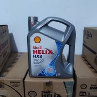 Oli Mesin Shell HeliX HX 8 HX8 5W30 5W-30 4 liter