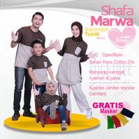 Sarimbit Shafamarwa 27 - Cokpi | Kaos Couple | Baju Keluarga