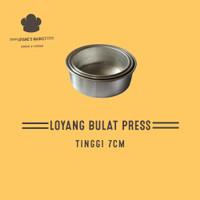 loyang bulat press tinggi 7/loyangkue/pcs - 18cm