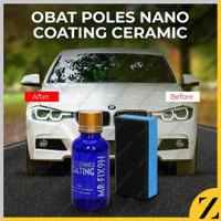 Nano Coating Ceramic 9H Liquid Cairan Poles Mobil 9H pelindung cat