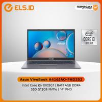 Asus VivoBook A416JAO-FHD352 - Slate Grey [i3 1005G1-4GB-SSD 512GB]