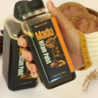 madu murni hitam pahit 320 ml