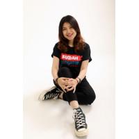 T-shirt Indonesia Pasti Bisa Sudah Negatif - Hitam
