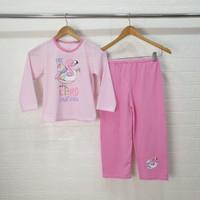 UNICORN Setelan Piyama Baju Tidur anak perempuan PANJANG size 6-18 - 8