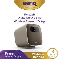 Mini Projector BenQ GS2 Wireless Portable Bluetooth Speaker HDMI USB-C
