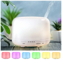 Ultrasonic Aroma Diffuser Humidifier Air Purifier 7 Color LED 500ML