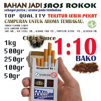 Saos Rokok Perisa Saus Roko Tembakau Bako Flavor Tobacco Flavour 100gr