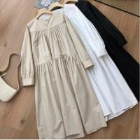 Pakaian Baju Muslim Wanita Helmia Long Tunik Muslim Cewe Panjang Best