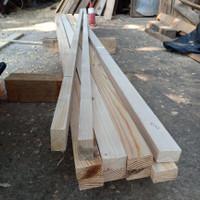 kayu jati belanda papan/ring 3x5x200