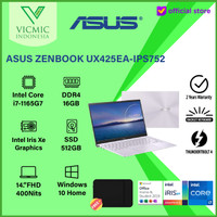ASUS UX425EA-IPS752 I7-1165G7 16GB 512GB SSD FHD IPS WIN10 OHS LILAC
