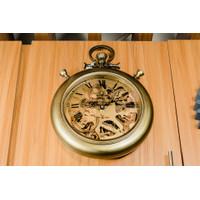 Jam Dinding / Clock Model Antik - Gold Diameter 30cm