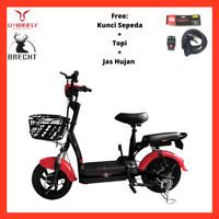 Sepeda Listrik Uwinfly RedFish Sepeda Aki