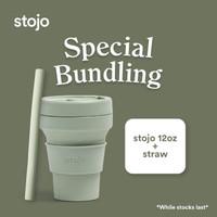 Promo Spesial Bundling Stojo core collection 21oz + Straw Stojo
