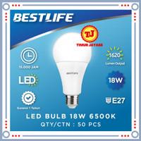 BESTLIFE Lampu LED Bulb 18 Watt Garansi 1 Tahun Lampu Bohlam 18w Putih