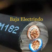 Kabel Listrik serabut isi 2 NYYHY 2X4MM SUPREME METERAN