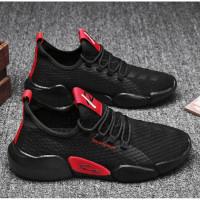 Sepatu Casual Sepatu Running Sepatu Casual Model Korea Sepatu - Hitam, 44