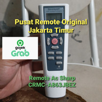 REMOTE REMOT AC SHARP CRMC-A863JBEZ ORIGINAL 100%