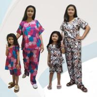 Baju Tidur Ibu dan Anak Motif Ranting Variasi Random