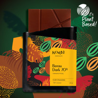 Korte Berau 70% Dark Chocolate Bar