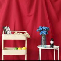 Kain Polos Merah Background Foto dan Studio, Bahan Polos Latar, Warna