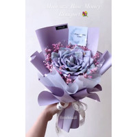 Mini Rose Money Bouquet uang asli 150RB