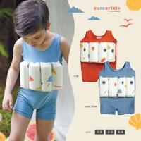 Boys Floatsuit | Baju Renang Pelampung UV Anak Laki-Laki | UPF 50+