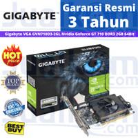 Gigabyte VGA GVN710D3-2GL Nvidia Geforce GT 710 DDR3 2GB 64Bit