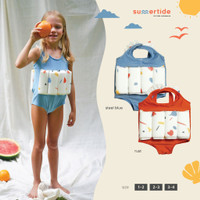 Girls Floatsuit | Baju Renang Pelampung UV Anak Perempuan | UPF 50+