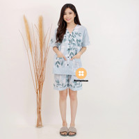 piyama cewek/baju tidur cewek/motif unik