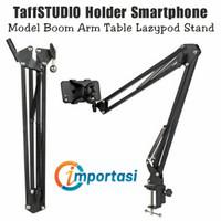 TAFFSTUDIO Phone Holder Bracket Model Boom Arm Table Tripod Stand