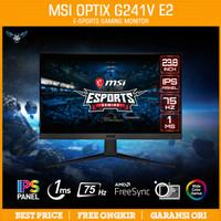 MSI OPTIX G241V 24 75Hz FULL HD AMD FREESYNC GAMING MONITOR 24 FLAT