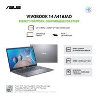 Laptop ASUS VivoBook A416 (i3 10th Gen/4G RAM/512G SSD/W10/UHD/Grey)
