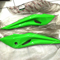 Cover Body Belakang 1Set Hijau Kawasaki Ninja RR SE 36001-0578 36035-5