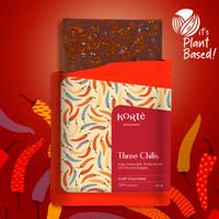 Korte Three Chili and Seasalt Chocolate Bar