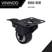 RODA CASTER HITAM/ RODA REM HITAM