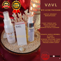 VAVL BEAUTE BYE ACNE PACKAGE [ Free Exclusive Pouch VAVL]