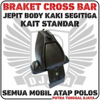 Braket Crossbar Jepit Body Segitiga Elegan Cross Bar Footpack Bracket